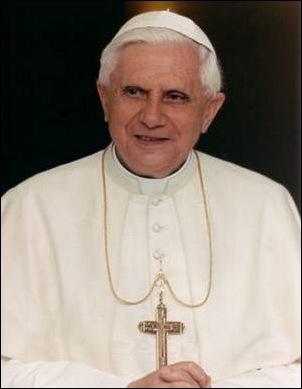 """על פי הספר """"קתוליות עכשיו"""" מסתבר שקתולים דוברי עברית מכנים אותו """"ברוך ה-16"""""""