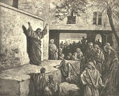 מיכה הנביא מסביר לעם שהעיקר הוא לעשות משפט ולאהוב חסד