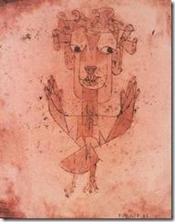 Angelus Novus של פול קלה, 1920