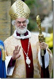 הארכיבישוף מקנטנברי, רואן וויליאמס