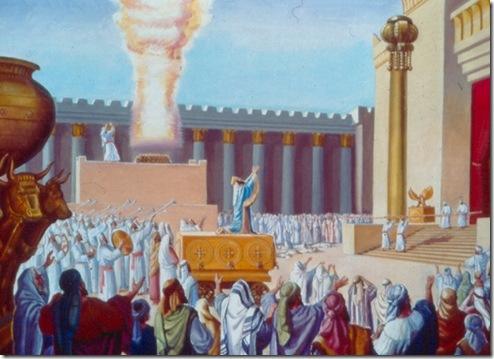 הקרבת קורבנות בבית המקדש
