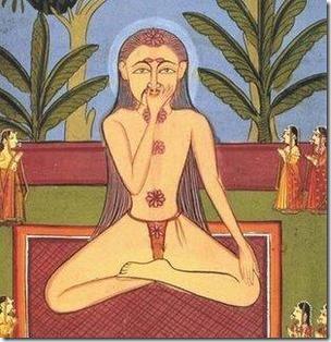 יוגי בתרגילי נשימה (פראנאיאמה)