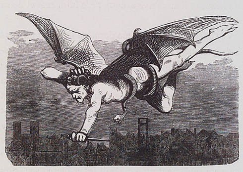 J. Cazotte. Le Diable Amoureux. Paris, 1845