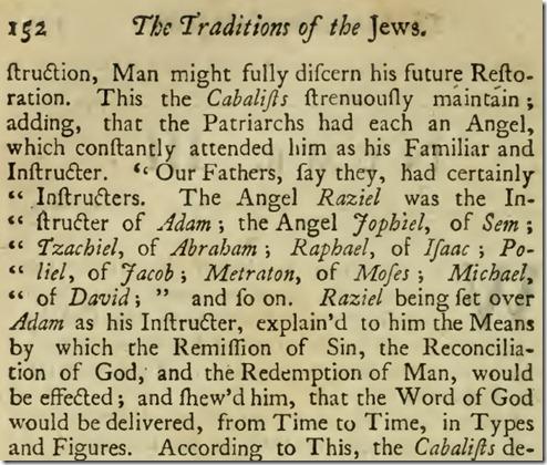 """מתוך הספר """"מסורות היהודים"""" (1742, במקור בגרמנית, 1700)"""