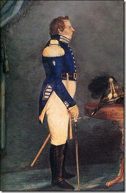 סמית במדי גנרל. ציור מ-1842