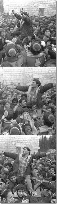 """חנן פורת חוגג את האישור הממשלתי להישאר בסבסטיה - צילומים של משה מילנר, לע""""מ"""