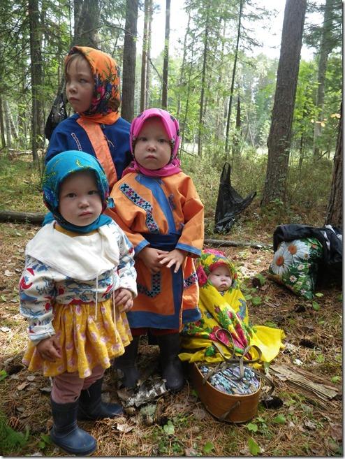 ארבע מבנות השבט
