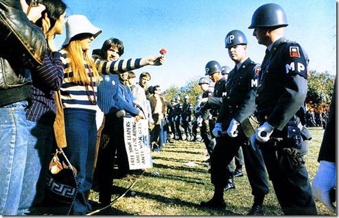 הפגנה בשנות השישים. מקור: ויקיפדיה