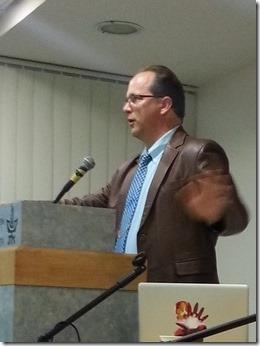 ג'פרי קרייפל בכנס החמישי לחקר דת ורוחניות עכשווית, אונ' תל-אביב