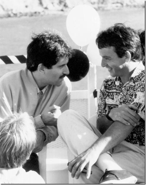 עמיר פריימן (מימין) ואנדרו כהן, 1991