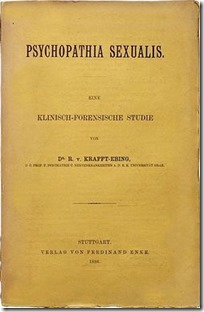 ספרו של קראפט-אבינג, 'פסיכופתיה סקסואליס', 1886
