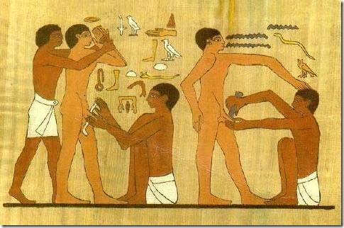 מילה במצריים הקדומה