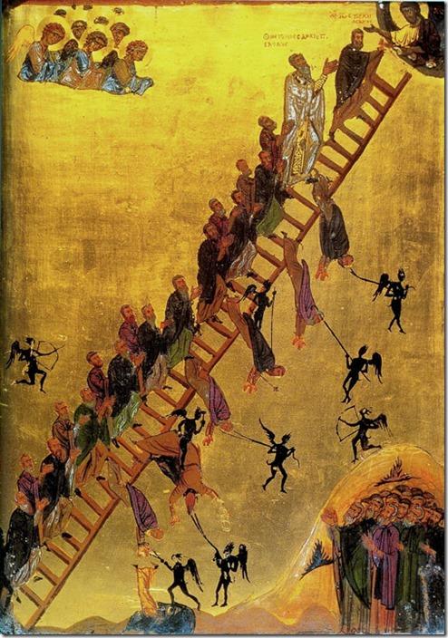 סולם העלייה לאלוהות, מנזר סנטה קתרינה בסיני, המאה ה-12