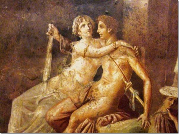 דידו ואניאס בפרסקו מפומפיי