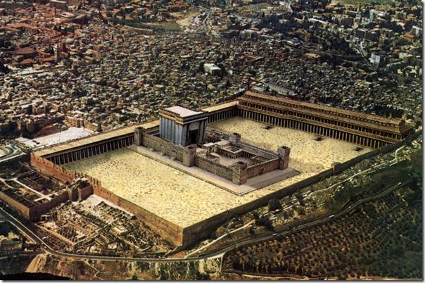 """הדמייה של בית המקדש בירושלים. מתוך אתר 'חדשות הגאולה' של חב""""ד. לחצו על התמונה למעבר לשם."""