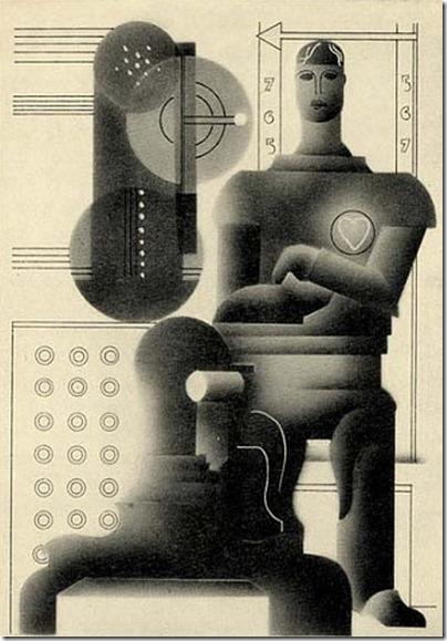 E McKnight Kauffe, The World in 2030 A.D., 1930