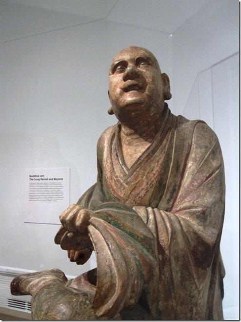 נזיר בודהיסטי ברגע של סאטורי, שושלת יאנג, המאה ה-14 (לחצו על התמונה כדי להגיע למקורה)