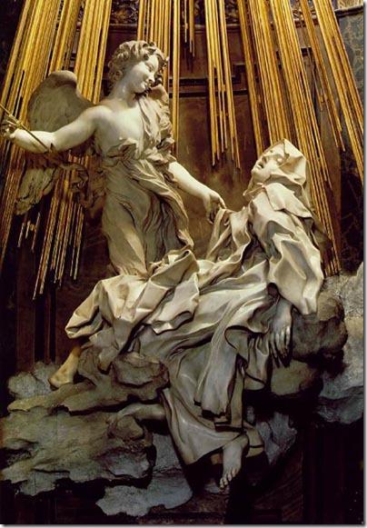 תרזה הקדושה באקסטאזה, ברניני, אמצע המאה ה-17