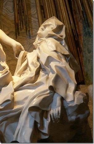 תרזה הקדושה זוכה לרוח הקודש - ברניני, איטליה, המאה ה-17