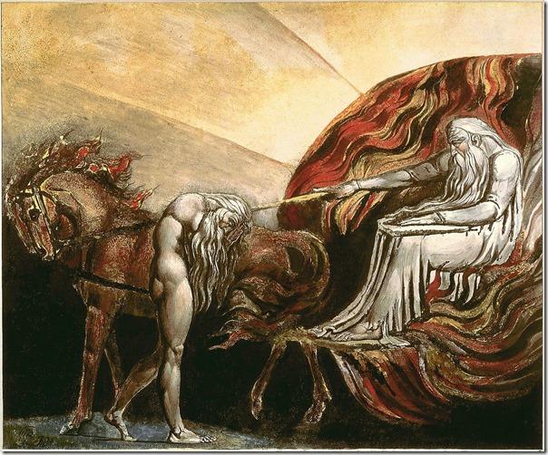 אלוהים שופט את אדם - וויליאם בלייק, 1795