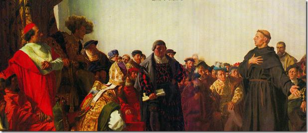 לותר בועידת וורמס, Anton von Werner, 1877