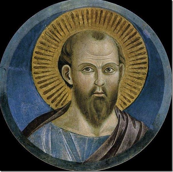 פאולוס בציור מהמאה ה-13. מה אתם אומרים, הוא גוי?